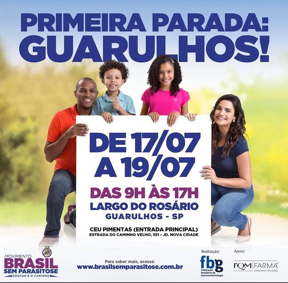 MOVIMENTO O BRASIL SEM PARASITOSE